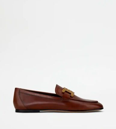 TOD'S ローファー・オックスフォード 直営 関税込 TOD'S Kate Loafers in Leather(8)
