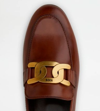 TOD'S ローファー・オックスフォード 直営 関税込 TOD'S Kate Loafers in Leather(9)