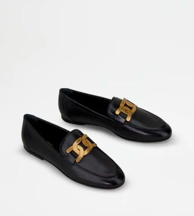 TOD'S ローファー・オックスフォード 直営 関税込 TOD'S Kate Loafers in Leather(2)