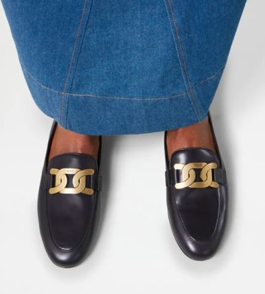 TOD'S ローファー・オックスフォード 直営 関税込 TOD'S Kate Loafers in Leather(6)