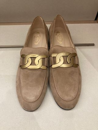 TOD'S ローファー・オックスフォード 直営 関税込 TOD'S Kate Loafers in Leather(20)