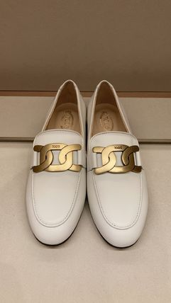 TOD'S ローファー・オックスフォード 直営 関税込 TOD'S Kate Loafers in Leather(16)