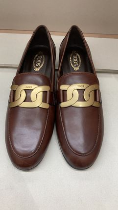 TOD'S ローファー・オックスフォード 直営 関税込 TOD'S Kate Loafers in Leather(11)
