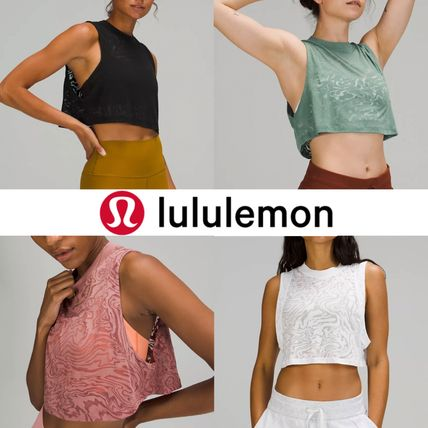 ☆透け感タンク☆【lululemon】All Yours Crop Tank Top Veil