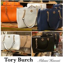 Outlet買付【Tory Burch】Carter Small Tote ミニトートバッグ
