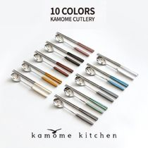 [kamome kitchen] 韓国雑貨 韓国式 お箸&スプーンセット 10color