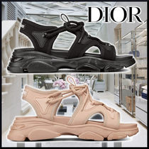 DIOR D-CONNECT SANDALS 2colors Technical fabric サンダル