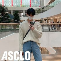 ASCLO Pastel Ribbed Cardigan (4color)