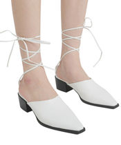 [our] Tell Me Strap Sandal Heel (4color)