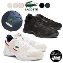 LACOSTE T-Point Leather Suede Sneakers NE3503 追跡付