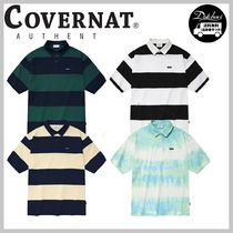 COVERNAT RUGBY STRIPE T-SHIRTS AB341 追跡付
