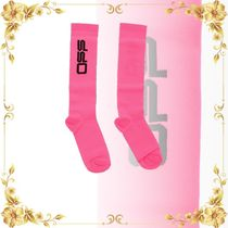 ☆SALE☆Embroidered Logo Long Socks