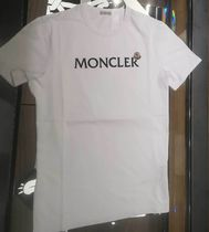 MONCLER★21/22秋冬文字を隠そうなロゴTシャツ【白】