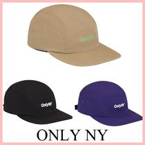 ONLY NY(オンリーニューヨーク) キャップ ONLY NY ロゴ 5パネル ハット キャップ 3色 送料込み