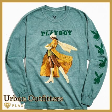【Urban Outfitters】* Playboy Pose Long Sleeve Tee ロンT*