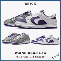 "【NIKE】人気 ダンク WMNS DUNK LOW ""FLIP THE OLD SCHOOL"""