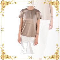 ☆SALE☆Silk rhinestone embellished top