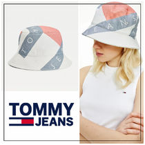 UK発★TOMMY JEANS  ロゴプリント♪バケットハット