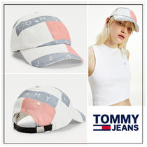 UK発★TOMMY JEANS  ロゴプリント♪キャップ