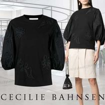 【SALE★21SS】Cecilie Bahnsen / フローラルパフスリーブトップ
