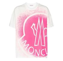 MONCLER 21SS ビッグロゴ スプレープリント Tシャツ