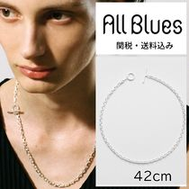 All Blues(オールブルース) ネックレス・チョーカー ALL BLUES☆オールブルース Silver Anchor necklace 42cm