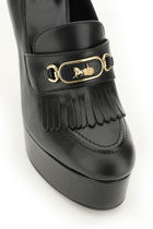 CELINE★MELODY PLATFORM LOAFERS WITH SULKY BUCKLE