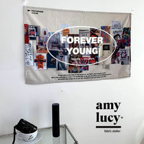 ★AMYLUCY★送料込★韓国★ファブリックポスター★Forever young