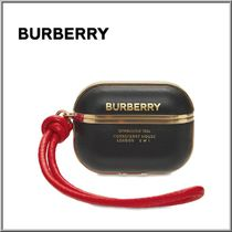 BURBERRY ホースフェリープリント ラムスキン AirPods Proケース
