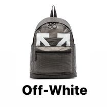 【Off-White】ロゴ バックパック関税送料込/国内発送]