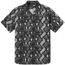 ★FRED PERRY AUTHENTIC SNAKE PRINT シャツ 関税込★