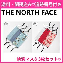 The North Face=ザノースフェイス☆通気性抜群マスク3枚セット