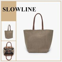 SLOWLINE HOUNDSTOOTH TOTE 日本未上陸 国内発送・関税込み