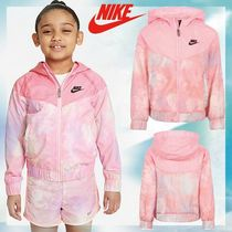 【NIKE】日本未入荷☆完売必須Tie Dye Logo Windbreaker in Pink