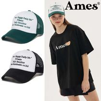 AMES-WORLDWIDE(アメスワールドワイド) キャップ AMES-WORLD WIDE ★ LETTERING COLORED MESH CAP
