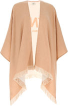 FENDI□SKIN PINK WOOL CAPE