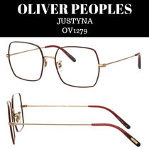 OLIVER PEOPLES☆JUSTYNA OV1279 スクエアメガネフレーム