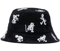 Ripndip Dance Party Embroidered Bucket Hat Black ハット