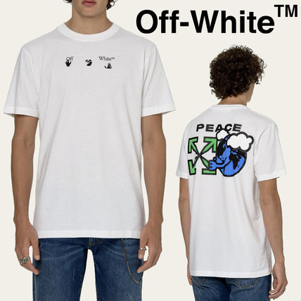 【OFF-WHITE】WORLD PEACE S/S Tシャツ