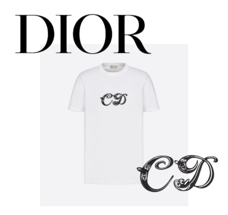 21FW【Dior】KENNY SCHARF Tシャツ ギフト包装 すぐお届け (Dior/Tシャツ・カットソー) 68806284