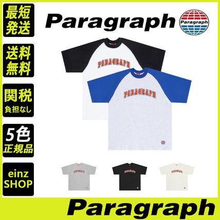 【Paragraph】21ss★ ROUND LOGO T-SHIRT No.47