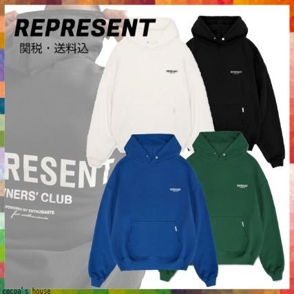 【21SS】*REPRESENT/リプレゼント* OWNERS CLUB フーディ