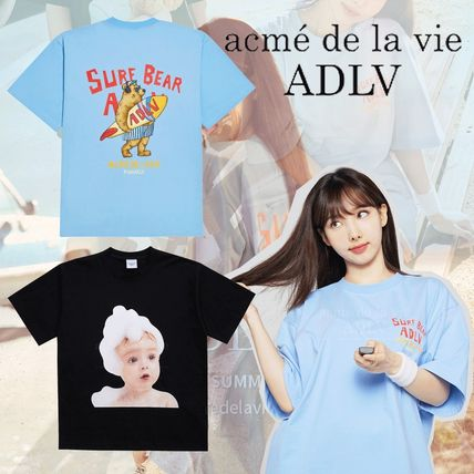 [TWICEモデル] ACME DE LA VIE - SHORT SLEEVE T-SHIRT (2種類)