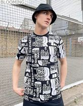 The North Face★イギリス限定★Distorted ロゴ Tシャツ
