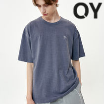 ★OY★PIGMENT CHERRY BLOSSOMS LOGO T-DUSTY BLUE★正規品/人気