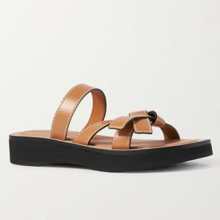 ★LOEWE★ Gate leather sandals