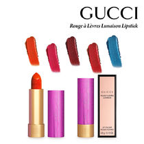 GUCCI(グッチ) リップグロス・口紅 関税込み♥GUCCI Rouge a Levres Lunaison Lipstick 5色