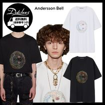 ANDERSSON BELL UNISEX SMILE EARTH EMBROIDERY T-SHIRT LM186