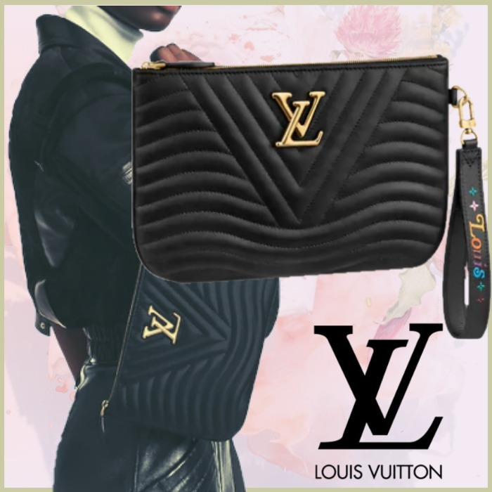 2021SS Louis Vuitton ポシェットジップ ポーチ クラッチバッグ (Louis Vuitton/クラッチバッグ) M63943