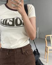 21HS ☆[TheOpen Product] / SOEIL FITTED T-SHIRT, CREAM